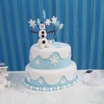 Bolo Festa Frozen da Giovana