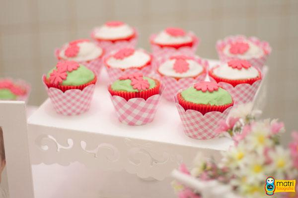Cupcakes Festa Rosa Provençal da Mariana