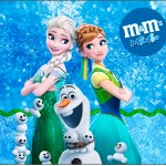 Mini M&M Frozen Febre Congelante