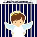 Mini Pastilha Docile Batizado Menino Azul Marinho e BrancoMini Pastilha Docile Batizado Menino Azul Marinho e Branco