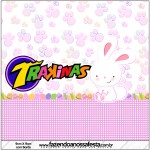 Mini Trakinas Páscoa Coelhinho Cute Rosa