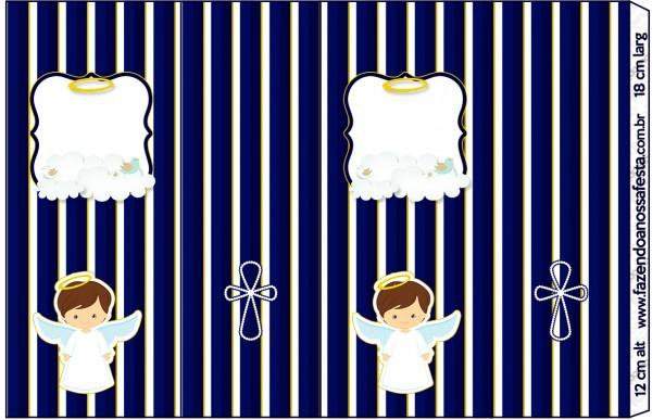 Nescauzinho Batizado Menino Azul Marinho e BrancoNescauzinho Batizado Menino Azul Marinho e Branco