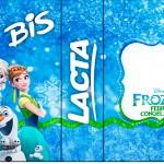 Rótulo Bis Duplo Frozen Febre Congelante