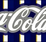Rótulo Coca-cola Batizado Menino Azul Marinho e Branco