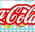 Rótulo Coca-cola Páscoa Coelhinho Cute AzulRótulo Coca-cola Páscoa Coelhinho Cute Azul
