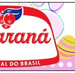 Rótulo Guaraná Caçulinha Páscoa Coelhinho Cute Rosa