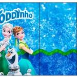 Rótulo Toddynho Frozen Febre Congelante