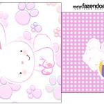 Saquinho de Chá Páscoa Coelhinho Cute Rosa
