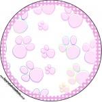 Tubetes, Toppers e Latinhas 2 Páscoa Coelhinho Cute Rosa