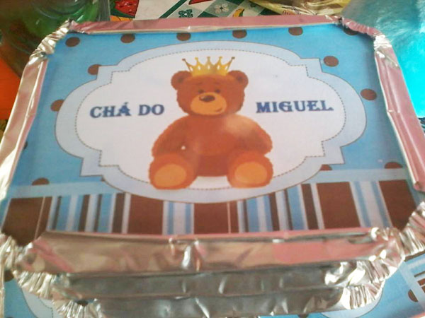 Marmitinha Chá de Bebê do Miguel