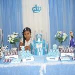 Decoração Festa Frozen da Laura