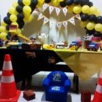 Bandeirinha Varalzinho Festa Construção do Davi