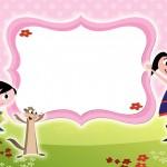 Convite Show da Luna para Meninas