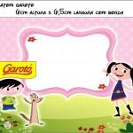 Batom Garoto Show da Luna para Meninas