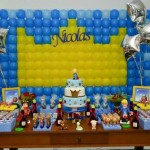Mesa de Doces Festa Pequeno Príncipe do Nicolas