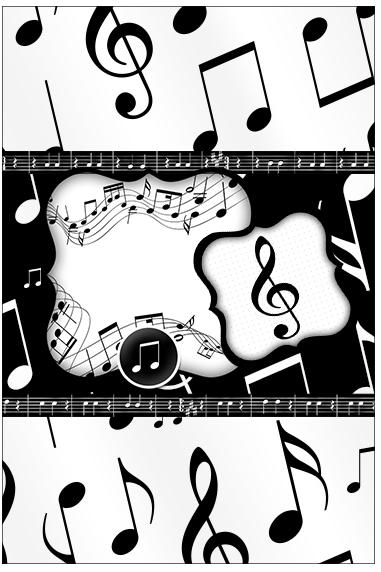 Bala Personalizada Notas Musicais