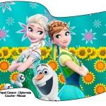 Bandeirinha Sanduiche 2 Frozen Fever