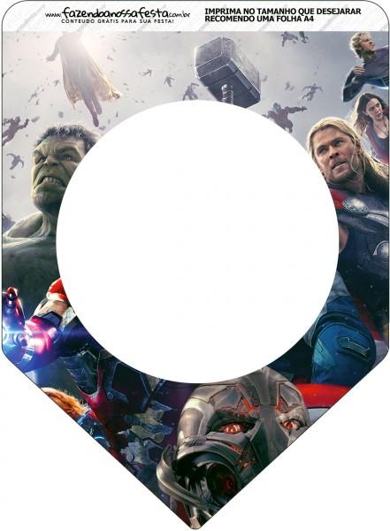 Bandeirinha Varalzinho Os Vingadores 2
