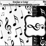 Bisnaga Brigadeiro 30gr Notas Musicais