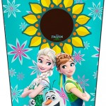 Bisnaga Flip Top Frozen Fever