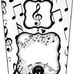 Bisnaga Flip Top Notas Musicais