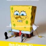 Bob Esponja 3D – Pronto para Imprimir