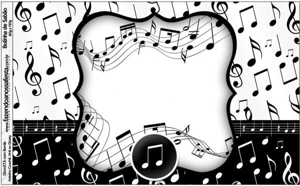 Bolinha de Sabão Notas Musicais