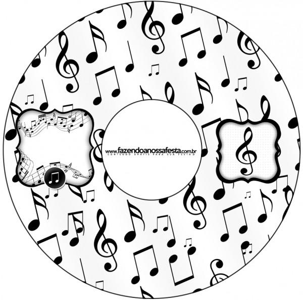 CD DVD Notas Musicais