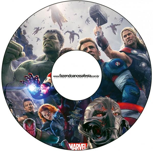 CD DVD Os Vingadores 2