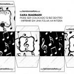 Caixa Bis Notas Musicais