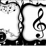 Caixa Bombom Notas Musicais