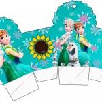 Caixa Cupcakes Frozen Fever
