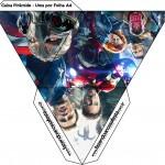 Caixa Pirâmide Os Vingadores 2