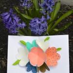 Cartão Dia das Mães Flor