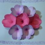 Cartão Dia das Mães Flores