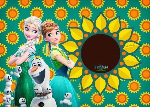 Convite 2 Frozen Fever