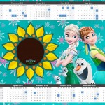 Convite Calendário 2015 Frozen Fever 2