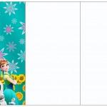 Convite, Cardápio ou Cronograma em Z Frozen Fever