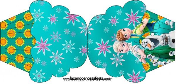 Convite Cupcake Frozen Fever