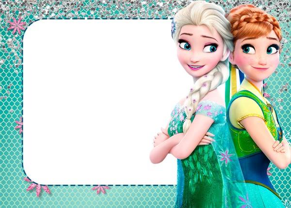 Convite Frozen 2