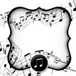Convite Notas Musicais 2