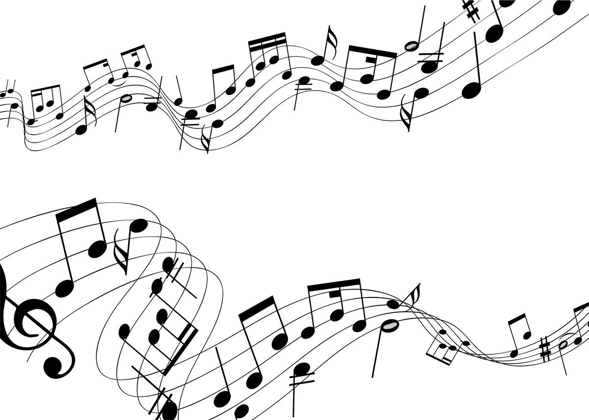 Convite Notas Musicais 3 Fazendo A Nossa Festa