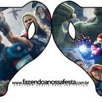 Convite Xícara Os Vingadores 2