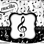 Creminho Nucita Notas Musicais