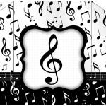 Envelope Notas Musicais