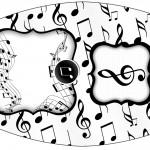 Esmalte Notas Musicais