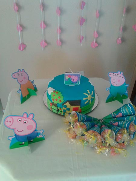 Festa George Pig do Ian Gabriel