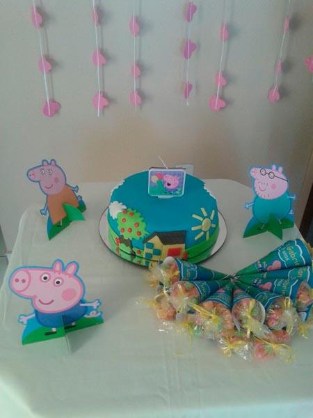 Festa George Pig do Ian Gabriel
