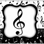 Lata de Leite Notas Musicais