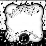 Marmita 500gr Notas Musicais